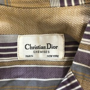 Christian Dior Tops - Christian Dior Chemises Shirt
